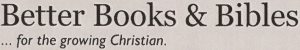 Better Books and Bibles, a Bookstore in Calgary