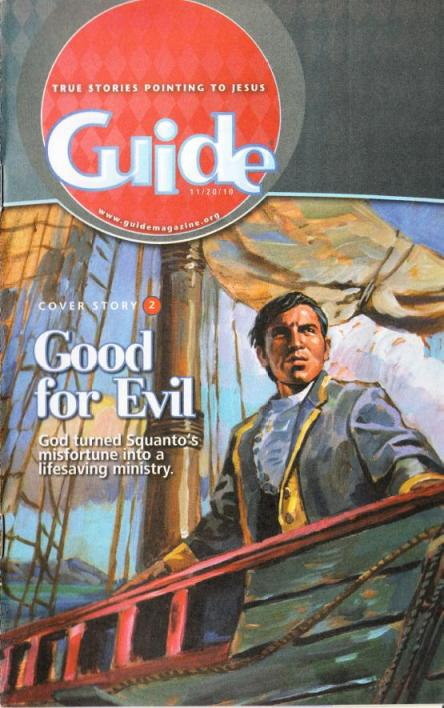 Magazine Front Cover - Guide