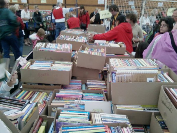 Crossroads Booksale 2011