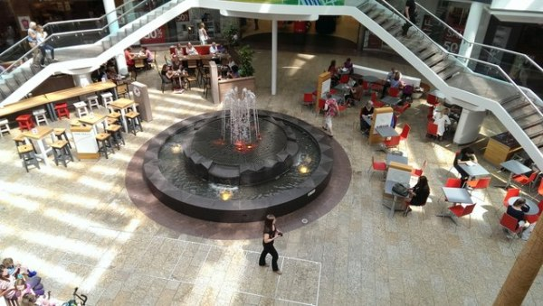 Inside the Mall Cribbs Causeway Bristol by Brian Robert Marshall