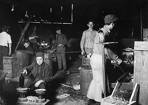 Child workers in Millville,NJ