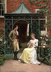 Georgette Heyer 170px-Edmund_Blair_Leighton_-_On_the_Threshold