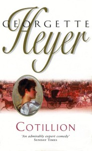 Georgette Heyer Cotillion cvr fr LIbraryThing