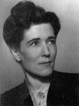 Georgette Heyer photo fr LIbraryThing