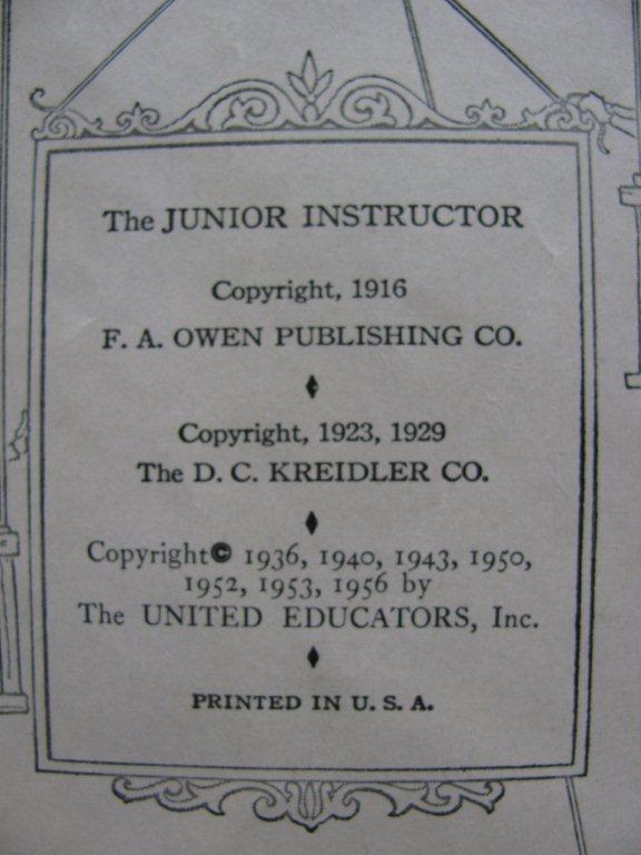 Jr Instructor books 021